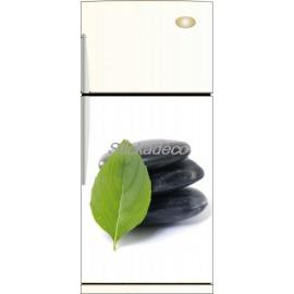 Sticker frigidaire Galet Noir Spa