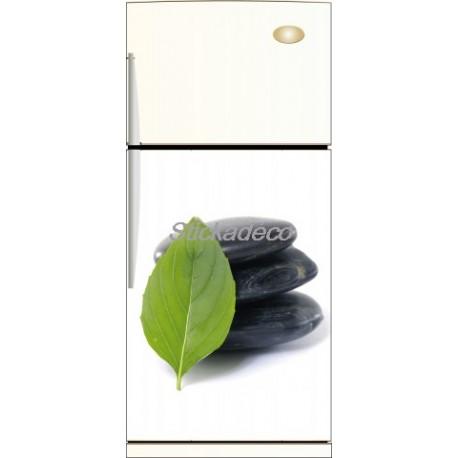 Sticker frigidaire Galet Noir