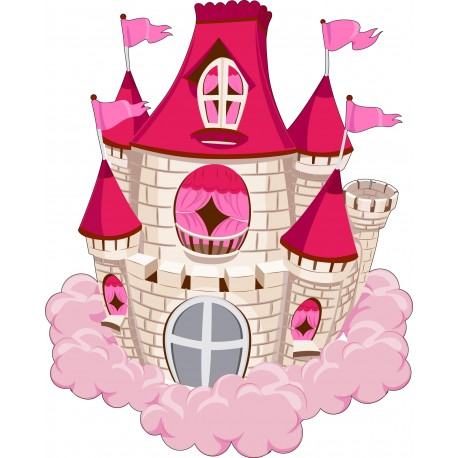 Sticker enfant Chateau