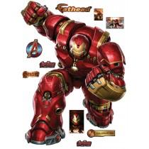 Stickers Iron Man Hulbuster Avengers 30x40cm 15015