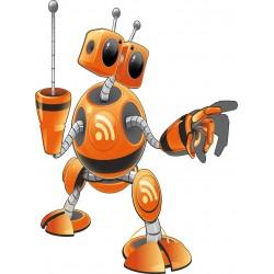 Sticker enfant Robot