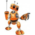Sticker enfant Robot