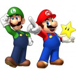stickers Mario et Luigi