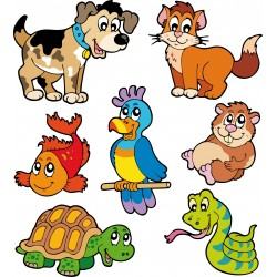 Sticker enfant, stickers animaux