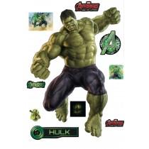 Stickers Hulk Avengers 27x40cm