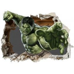 Stickers Avengers Hulk 55x39cm