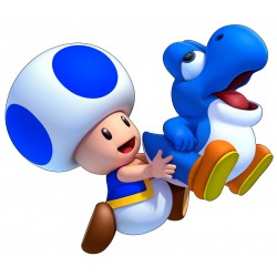 stickers Mario Yoshi Toad