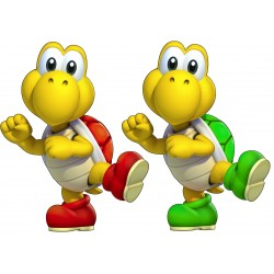 stickers Mario Koopa troopa