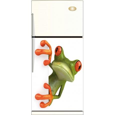 Sticker frigo Grenouille - ou Magnet frigo