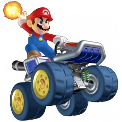 Stickers Mario Kart