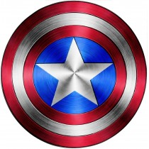 Stickers Bouclier Captain America Avengers