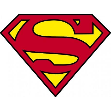 Stickers logo superman art d co stickers - Symbole de superman ...