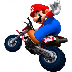 Stickers Mario Moto