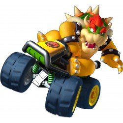 Stickers Mario Kart Bowser