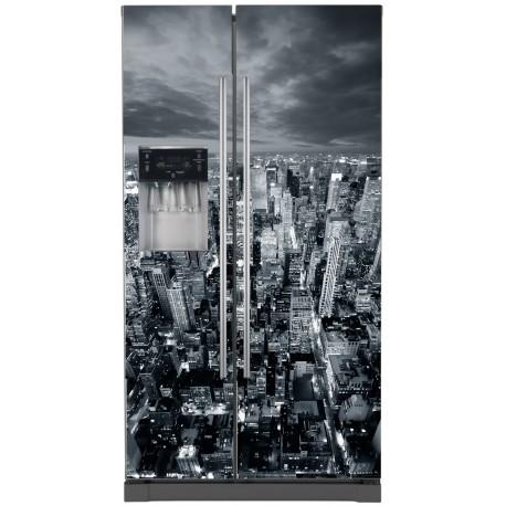 Sticker frigo américain New York