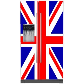 Sticker frigo américain Union Jack