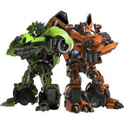 Sticker enfant Transformers