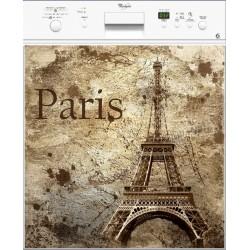 Sticker lave vaisselle Paris ou magnet lave vaisselle