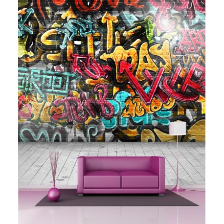 Stickers géant déco Grafitti