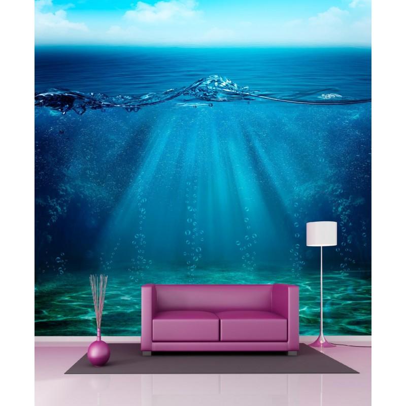 stickers g ant d co vus sous l 39 eau art d co stickers. Black Bedroom Furniture Sets. Home Design Ideas