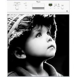 Sticker lave vaisselle Enfant, magnet lave vaisselle