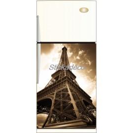 Sticker frigo frigidaire Tour Eiffel