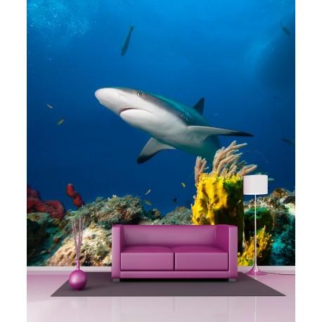 Stickers géant déco Requin