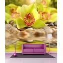 Stickers géant déco Orchidée