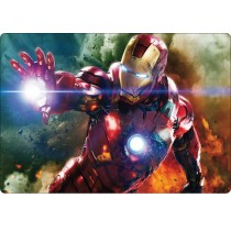 Stickers pc ordinateur portable Iron Man réf 16217