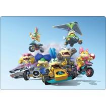 Stickers pc ordinateur portable Mario et ses amis réf 16223