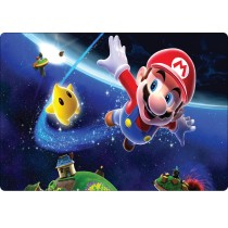 Stickers pc ordinateur portable Mario galaxy réf 16224