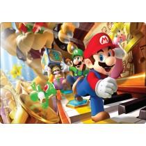 Stickers pc ordinateur portable Mario et ses amis réf 16226