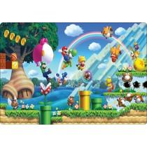 Stickers pc ordinateur portable Mario et ses amis réf 16227