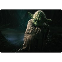 Stickers pc ordinateur portable Stars Wars Yoda réf 16247