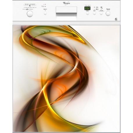 Sticker lave vaisselle Design ou magnet lave vaisselle
