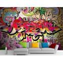 Stickers muraux géant déco : Graffiti