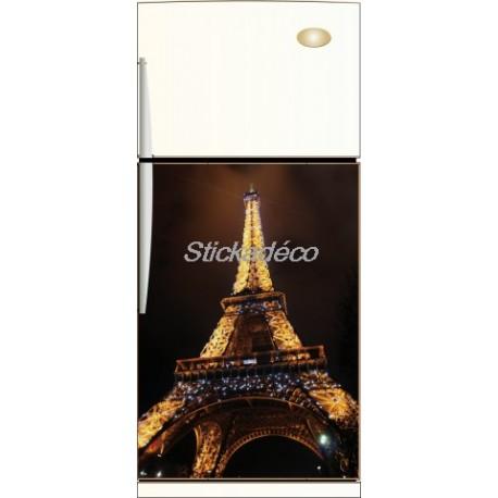 Sticker frigidaire Tour Eiffel
