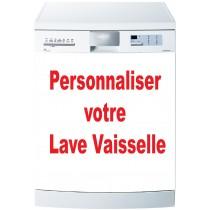 Stickers Lave Vaisselle à personnaliser