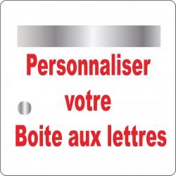 Stickers Boite aux lettres à personnaliser