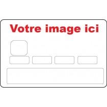 Stickers CB Skin Carte de Crédit à personnaliser