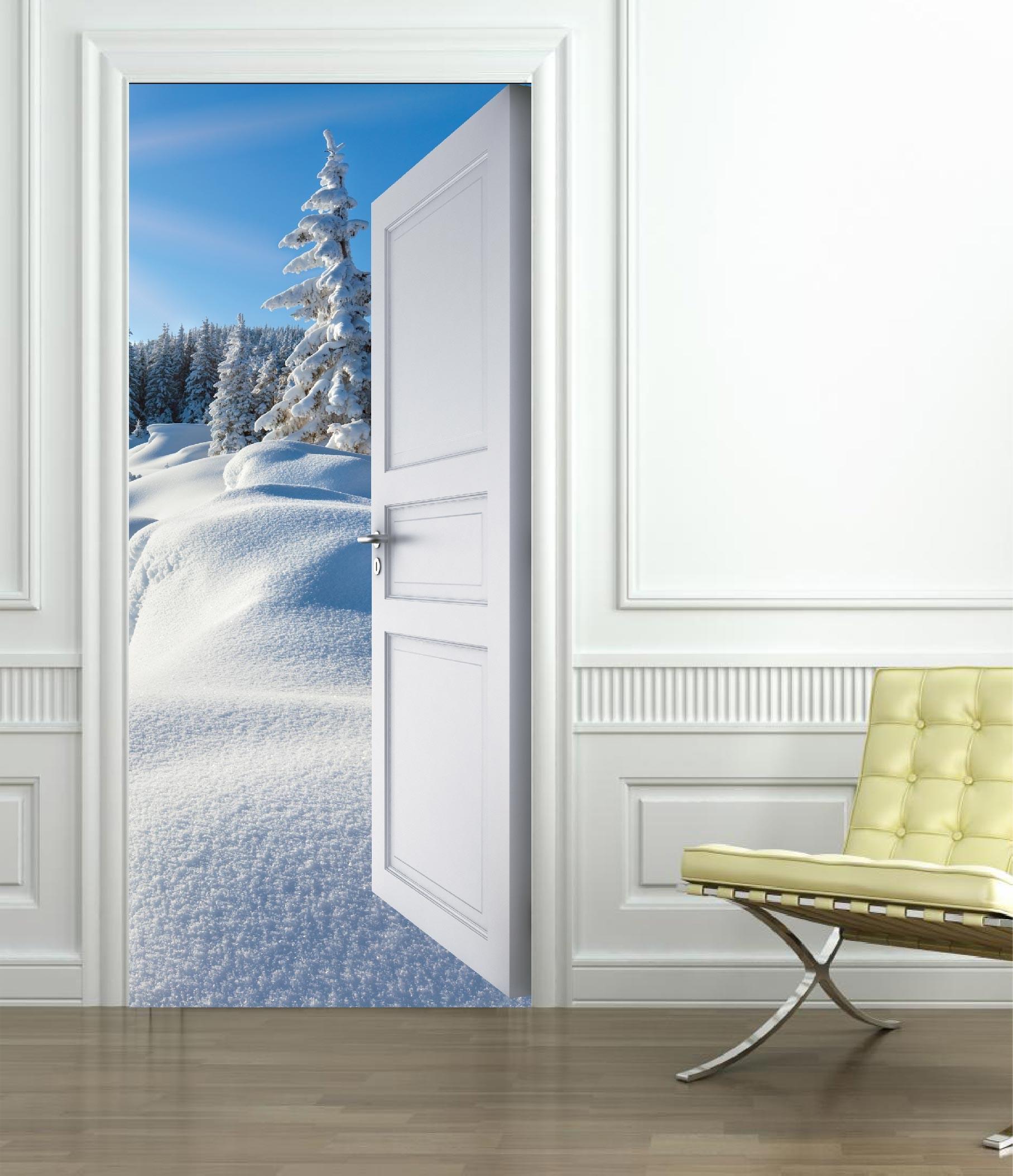 trompe l oeil porte interieur. Black Bedroom Furniture Sets. Home Design Ideas