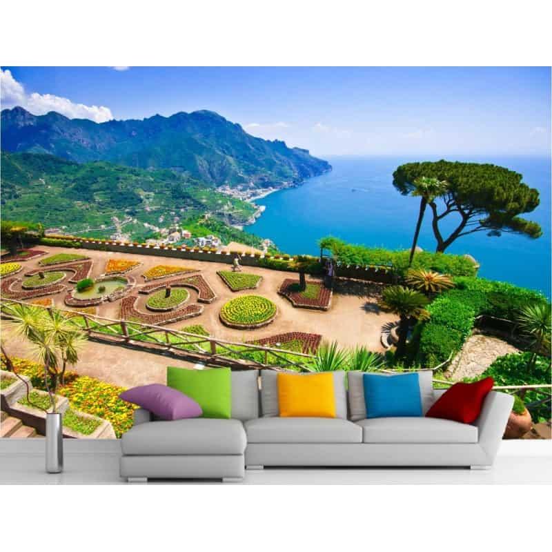 stickers muraux g ant d co vus sur jardins et mer art. Black Bedroom Furniture Sets. Home Design Ideas