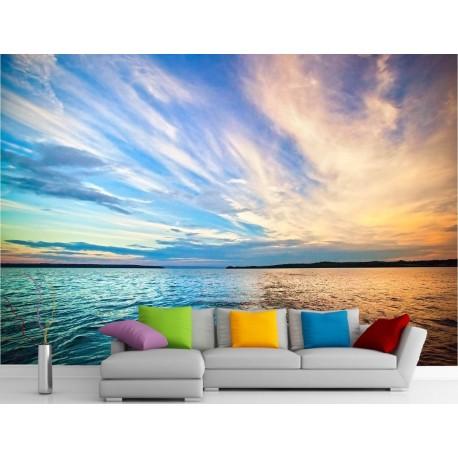 stickers muraux g ant d co vus sur la mer et le ciel. Black Bedroom Furniture Sets. Home Design Ideas