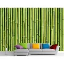 Stickers muraux géant déco : Bambous