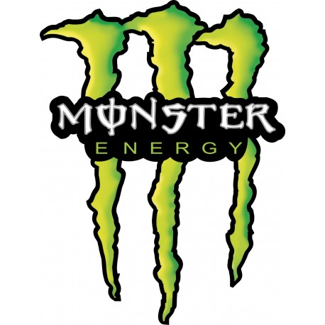 Sticker monster energy art d co stickers for Stickers monster high pour chambre