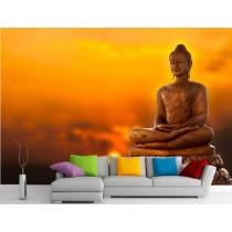 Stickers muraux géant déco : Bouddha