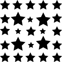 Stickers Etolies 25 stickers muraux