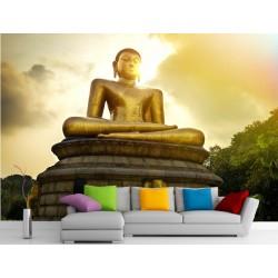 Stickers muraux géant déco : Bouddha réf 11177
