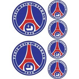 Stickers autocollants Paris Saint Germain PSG