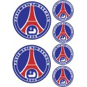 Stickers autocollants Paris Saint Germain PSG